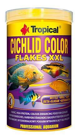 Tropical Cichlid Color 250 ml flakes